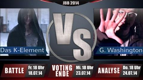 JBB 2014 8tel-Finale 3 8 - Das K-Element vs. Gary Washington ANALYSE