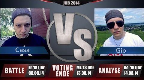 JBB 2014 8tel-Finale 5 8 - Casa vs. Gio ANALYSE