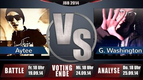 JBB 2014 4tel-Finale 2 4 - Aytee vs. Gary Washington ANALYSE