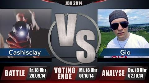 JBB 2014 4tel-Finale 3 4 - Cashisclay vs. Gio ANALYSE