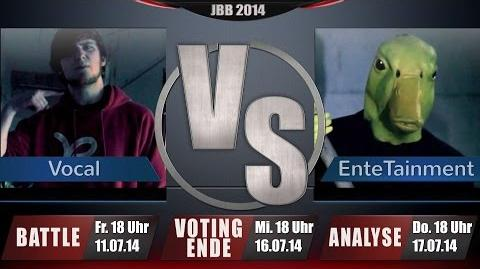 JBB 2014 8tel-Finale 2 8 - EnteTainment vs. Vocal ANALYSE