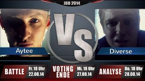 JBB 2014 8tel-Finale 4 8 RR - Aytee vs. Diverse ANALYSE - Teil 2