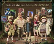 Jumanji Mobile Game Cast