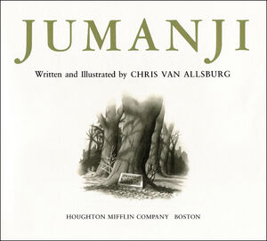 Jumanji Book Front