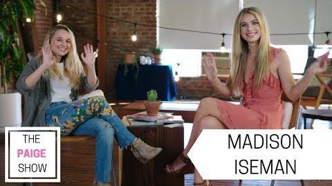 Madison Iseman talks Acting, Jumanji, and Working With Jack Black The Paige Show