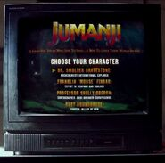 Jumanji Video Game Start Screen (Trailer)