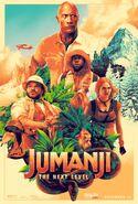 Jumanji The Next Level Dolby Poster