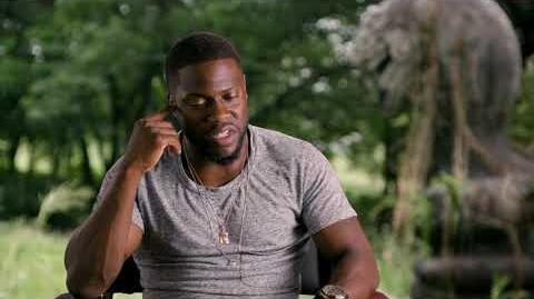 Jumanji – Welcome to the Jungle - Itw Kevin Hart (official video)