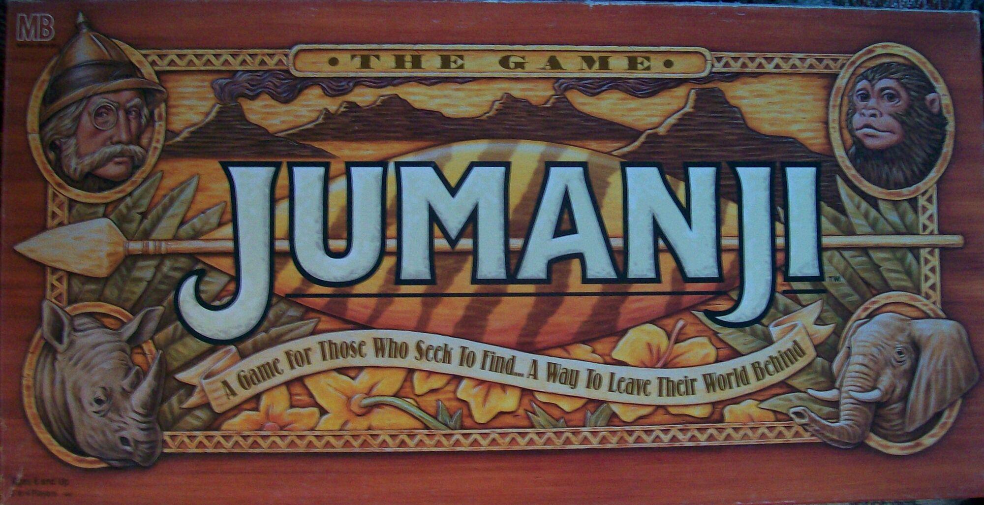 Jumanji Milton Bradley Board Game Jumanji Wiki Fandom Powered