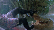 Jumanji Crocodile Sarah