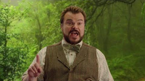 Don't Talk Jack Black & Madison Iseman from JUMANJI WELCOME TO THE JUNGLE