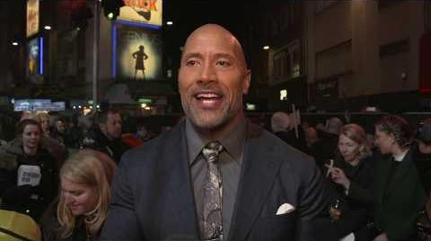 Jumanji Welcome to the Jungle London Premiere - Itw Dwayne Johnson (official video)