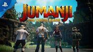 JUMANJI- The Video Game - Announce Trailer - PS4