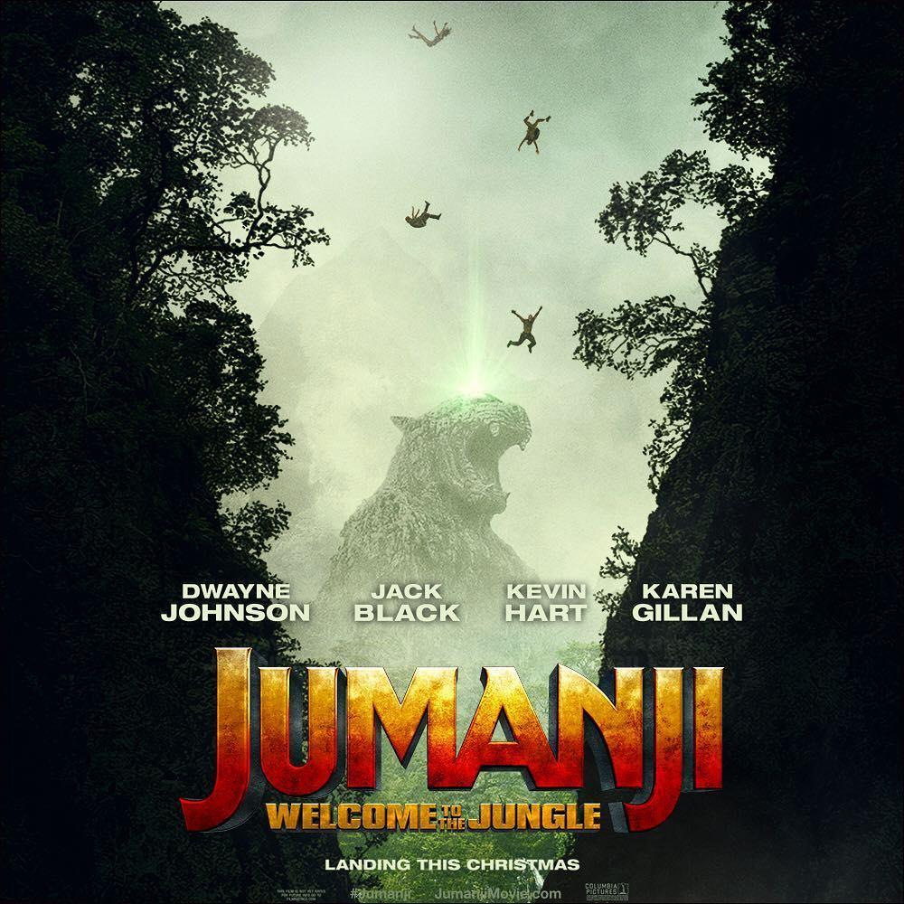 Resultado de imagem para jumanji welcome to the jungle posters