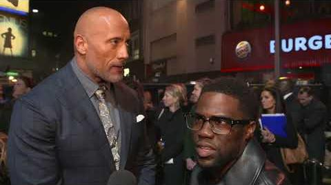 Jumanji Welcome to the Jungle London Premiere - Itw Kevin Hart (official video)