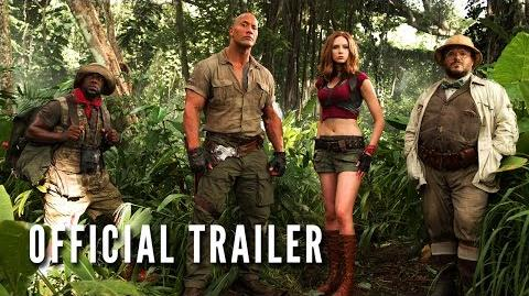 JUMANJI WELCOME TO THE JUNGLE - Official Trailer (HD)