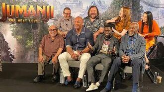 JUMANJI THE NEXT LEVEL - Cast Q&A