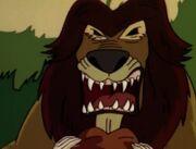 Jumanji Lion Young Alan