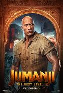 Jumanji The Next Level Character Poster 01