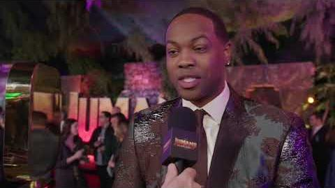 Jumanji Welcome To The Jungle Premiere LA - Itw Ser Darius Blain (official video)