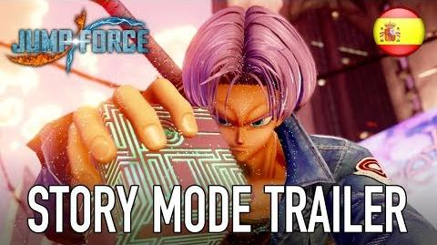JUMP Force - PS4 XB1 PC - Story Mode trailer (Español)