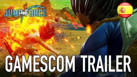 JUMP Force - PS4 XB1 PC - gamescom trailer (Español)