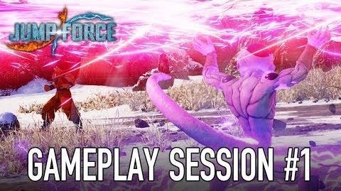JUMP Force - PS4 XB1 PC - Gameplay Session 1 (Goku, Naruto, Luffy VS Frieza)