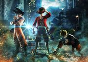 Jump Force Artwork E3