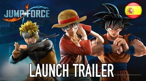 Jump Force - PS4 XB1 PC - Launch Trailer (Español)