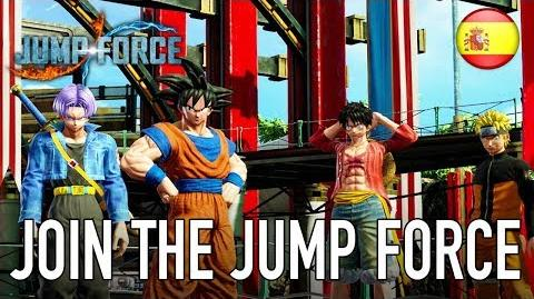 JUMP Force - Join the Jump Force (Story Mode Trailer Español)