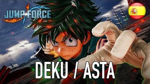 JUMP Force - PS4 XB1 PC - Deku & Asta (Español Gameplay Trailer)