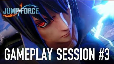 JUMP Force - PS4 XB1 PC - Gameplay Session 3 (Sasuke VS Zoro)-0