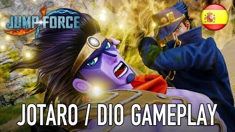 JUMP Force - PS4 XB1 PC - Jotaro & Dio (Español gameplay trailer)