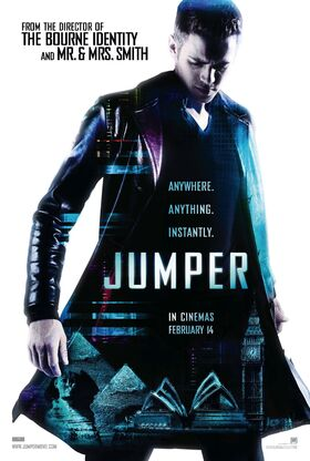 Jumper uk movie poster onesheet l