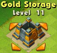 Gold Storage Lvl 11