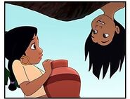 Jungle book Two movie-still-mowgli-and-shanti 1706955-400x305