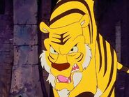 Shere Khan threatens Vermillion in the Ruins