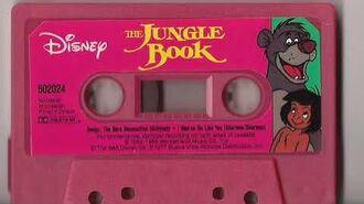 Disney's The Jungle Book Cassette Tape