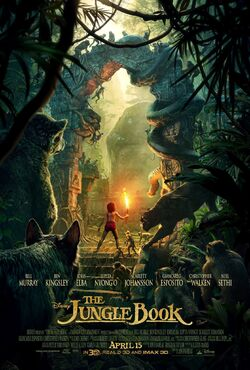 The Jungle Book 2016 Poster