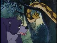 Baloo and Kaa (Jungle Book Shōnen Mowgli)