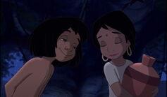 Mowgli is secretly in love with Shanti