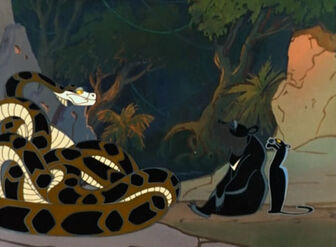 Baloo, Bagheera and Kaa (Maugli)