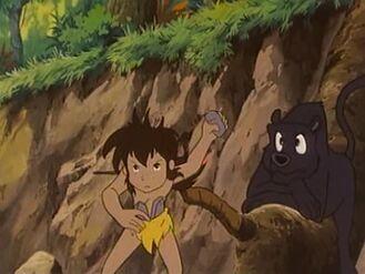 Mowgli Practicing