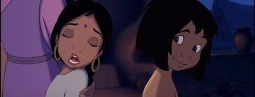 Shanti and Mowgli 114309011