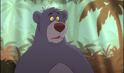 Baloo the Bear learned Mowgli really wanted Shanti to find him