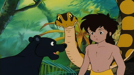Bagheera Shouting at Mowgli