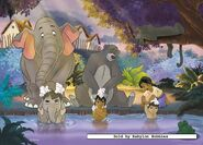 The Jungle Book Bath time