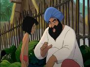 Mowgli and his father
