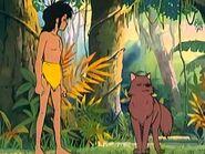 Lala wishng Mowgli Good Luck