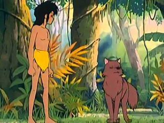 Lala wishng Mowgli Good Luck